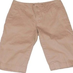 Ralph Lauren Khaki Bermuda Shorts   Size 4